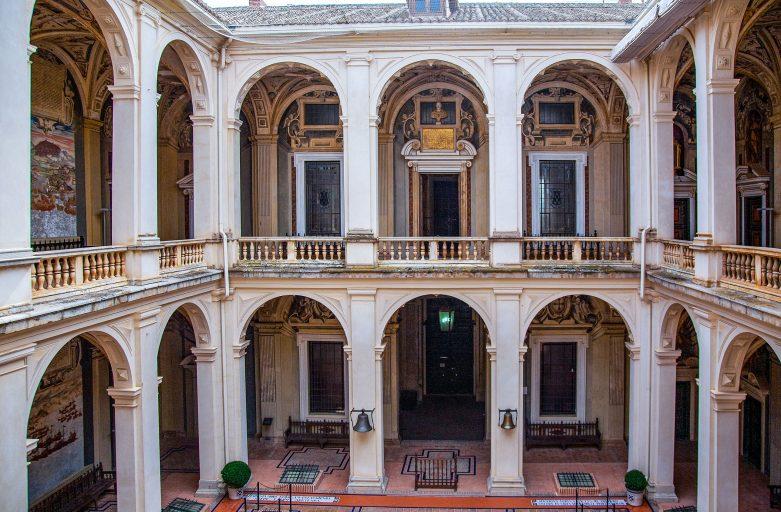 El palacio de Álvaro de Bazán en el Viso del Marqués